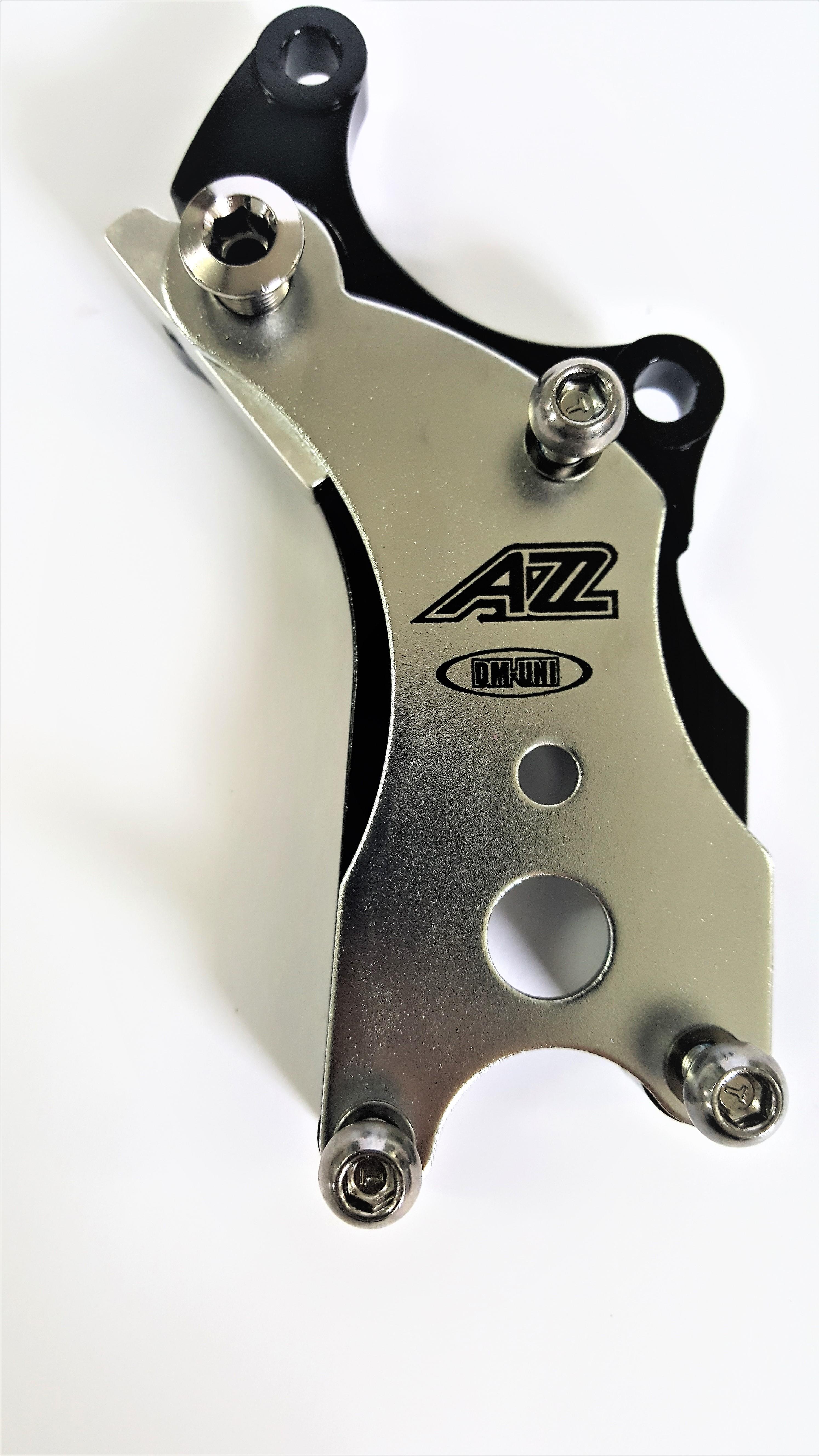 Adaptador preto com prata da A2Z para bicicleta