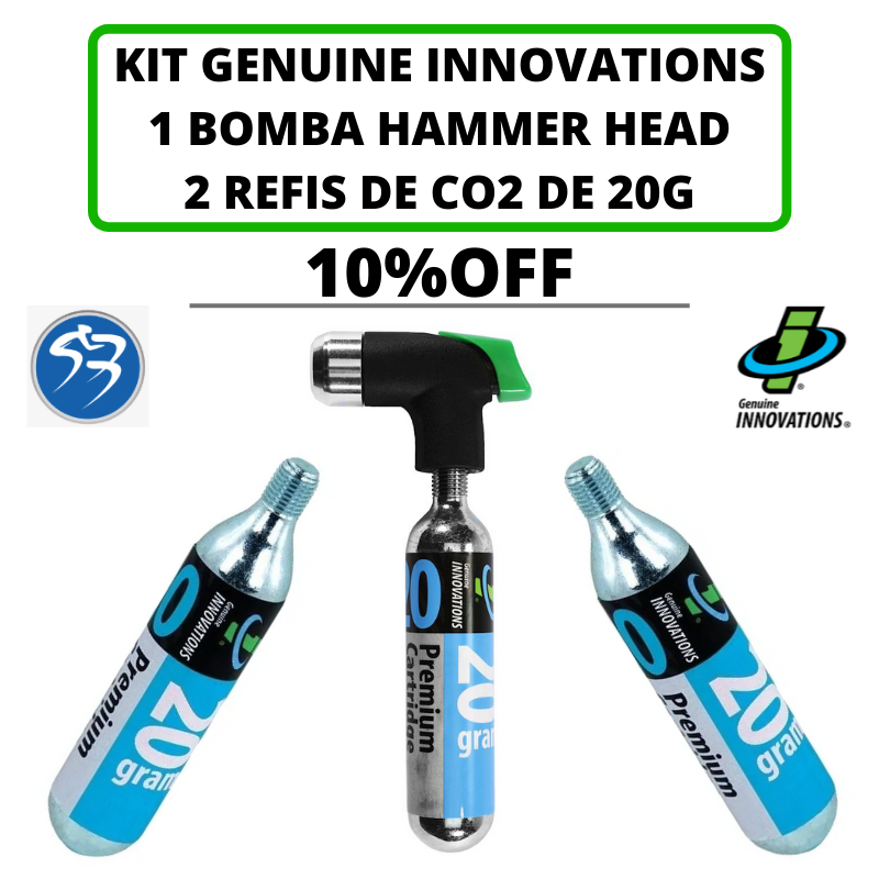 Kit bomba Hammer Head com 10% OFF